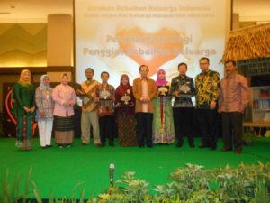 Penghargaan untuk penggiat keluarga